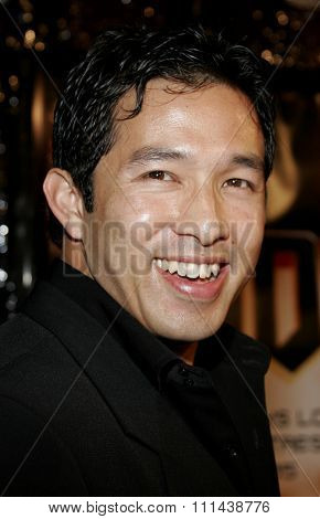 October 17, 2005. Yao Chin at the Los Angeles Premiere of