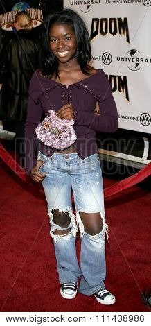 October 17, 2005. Camille Winbush at the Los Angeles Premiere of