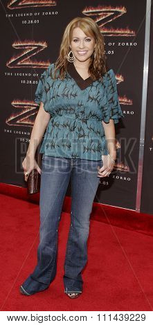 October 16, 2005. Farah Fath at the Columbia Pictures'