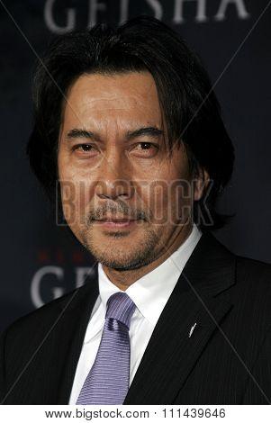12/04/2005 - Hollywood - Koji Yakusho attends the