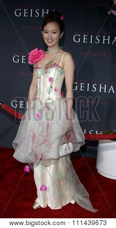12/04/2005 - Hollywood - Youki Kudoh attends the