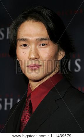 12/04/2005 - Hollywood - Karl Yune attends the
