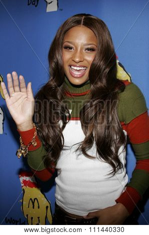 November 15, 2005 - Hollywood - Ciara at the 2005 World Children's Day at The Los Angeles Ronald McDonald House Ronald McDonald House in Hollywood, California United States.