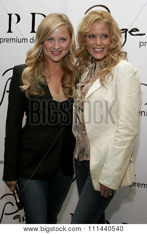 November 17, 2005 - Beverly Hills - Jessica Capshaw and Paige Adams-Geller at the Paige Premium Denim Party at the Paige Premium Denim Flagship Store in Beverly Hills, California United States.