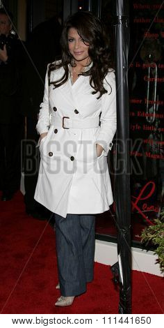 Paula Abdul attends the Leona Edmiston Frock Gallery Opening held at the Frock Boutique On Sunset Strip in West Hollywood, California on March 14, 2006.