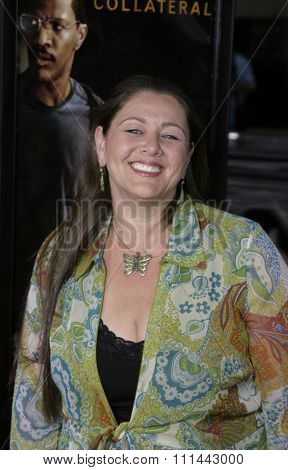 2 August 2004 - Los Angeles, California - Camryn Manheim. The World Premiere of 'Collateral' at the Orpheum Theatre in downtown Los Angeles.