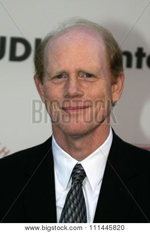 Ron Howard at the 75th Diamond Jubilee Celebration for the USC School of Cinema-Television held at the USC's Bovard Auditorium in Los Angeles, United States on September 26 2004.