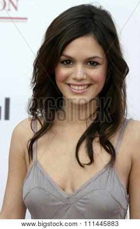Rachel Bilson at the 75th Diamond Jubilee Celebration for the USC School of Cinema-Television held at the USC's Bovard Auditorium in Los Angeles, United States on September 26 2004.