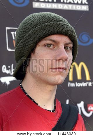 Patrick Fugit at the Standup For Skateparks benefit held at Pinz Bowling Alley in Studio City, California on October 3, 2004.
