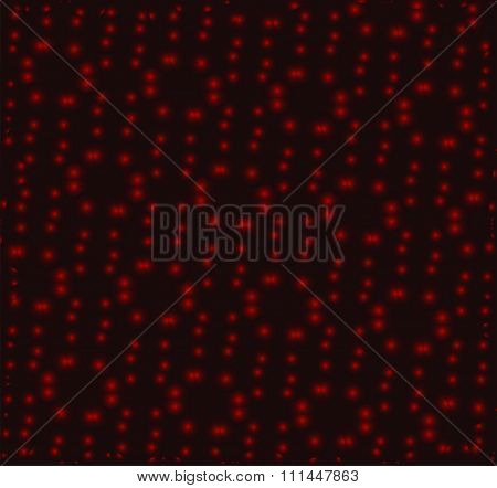 Dot red background