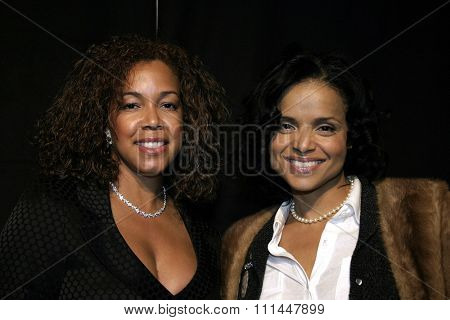 17 December 2004 - Hollywood, California - Victoria Rowell and guest. 9th Annual Multicultural Prism Awards at the Henry Fonda Theater in Hollywood.