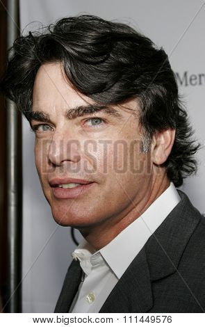 06/10/2006 - Bel Air - Peter Gallagher at the Chrysalis' 5th Annual Butterfly Ball  held at Italian Villa Carla and Fred Sands in Bel Air, California, United States.