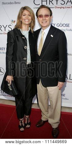 06/10/2006 - Bel Air - Carla and Fred Sands attend the Chrysalis' 5th Annual Butterfly Ball  held at Italian Villa Carla and Fred Sands in Bel Air, California, United States.