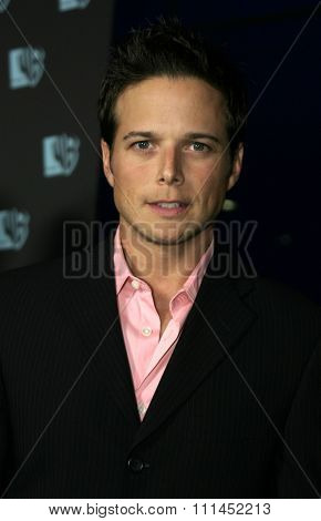 Scott Wolf at the WB Television Network's All-Star Summer TCA Party held at the Pacific Design Center in West Hollywood, USA on July 14, 2004.