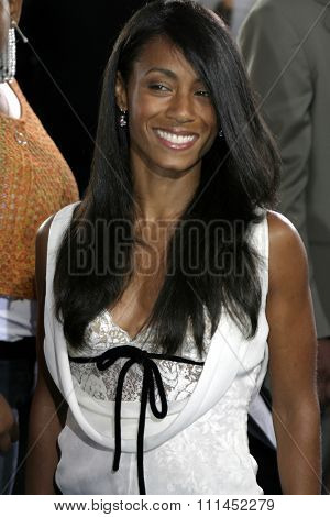 Jada Pinkett Smith at the Los Angeles premiere of