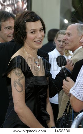 Franka Potente at the Los Angeles premiere of