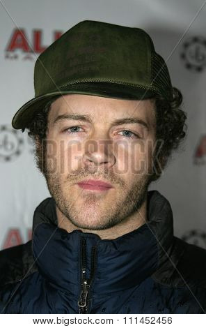 02/22/2005 - Hollywood - Danny Masterson at the All In Magazine's Celebrity Charity Shootout at Spider Club.