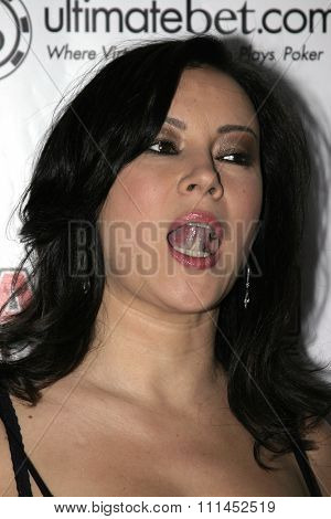 02/22/2005 - Hollywood - Jennifer Tilly at the All In Magazine's Celebrity Charity Shootout at Spider Club.