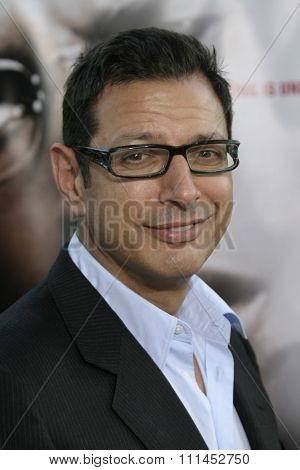 Jeff Goldblum at the Los Angeles premiere of
