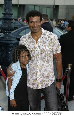Mario Van Peebles at the Los Angeles premiere of