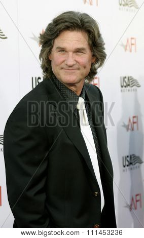 10 June 2004 - Hollywood, USA - Kurt Russell. 32nd AFI Life Achievement Award: A Tribute to Meryl Streep at the Kodak Theatre, Hollywood & Highland.