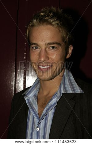 19 August 2004 - Hollywood, California - Ryan Carnes. Pelle Pelle's Celebrity Catwalk for charity hosted by Nicole Richie at the Palladium in Hollywood.