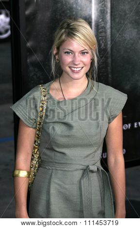 Laura Ramsey at the Los Angeles premiere of
