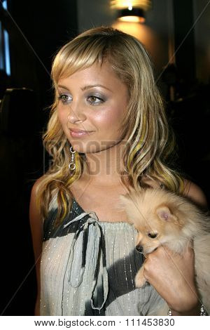 19 August 2004 - Hollywood, California - Nicole Richie. Pelle Pelle's Celebrity Catwalk for charity hosted by Nicole Richie at the Palladium in Hollywood.