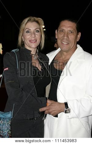 19 August 2004 - Hollywood, California - Danny Trejo. Pelle Pelle's Celebrity Catwalk for charity hosted by Nicole Richie at the Palladium in Hollywood.