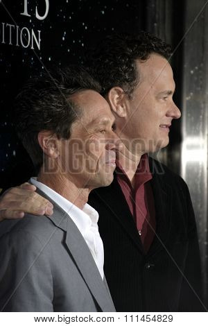 03/22/2005 - Los Angeles - Brian Grazer and Tom Hanks at the