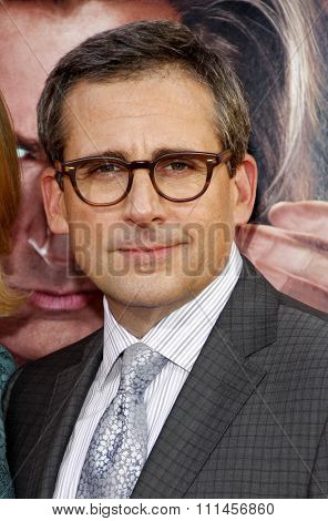 Steve Carell at the Los Angeles premiere of 'The Incredible Burt Wonderstone' held at the TCL Chinese Theater in Los Angeles, United States, 11/03/2013.