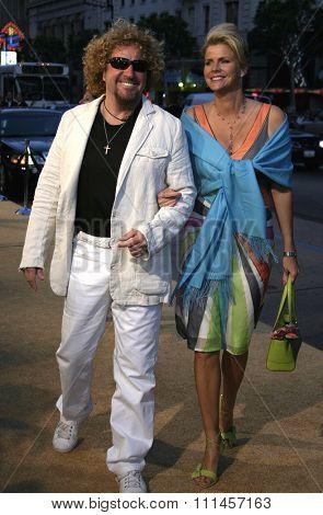 04/04/2005 - Hollywood - Sammy Hagar at the