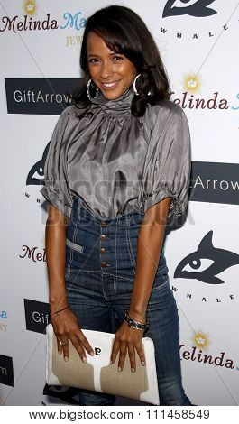 Dania Ramirez at the Whaleman Foundation Benefit Dinner held at the Beso in Hollywood on August 10, 2008.