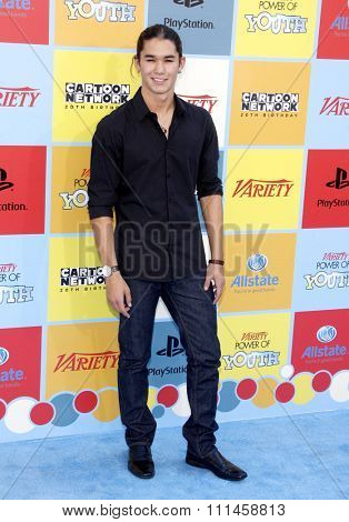 Booboo Stewart at the Variety's 6th Annual Power Of Youth held at the Paramount Studios in Hollywood on September 15, 2012.