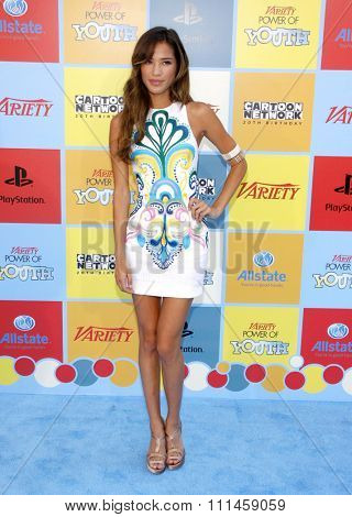 Kelsey Chow at the Variety's 6th Annual Power Of Youth held at the Paramount Studios in Hollywood on September 15, 2012.