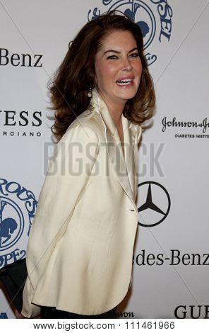 25/10/2008 - Beverly Hills - Lara Flynn Boyle at the 30th Anniversary Carousel Of Hope Ball held at the Beverly Hilton Hotel in Beverly Hills, California, United States.