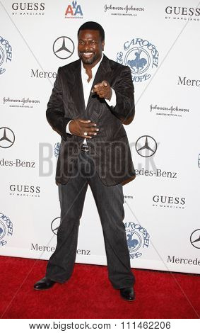 Chris Tucker at the 30th Carousel of Hope Ball held at the Beverly Hilton Hotel in Beverly Hills, California, United States on October 25, 2008.