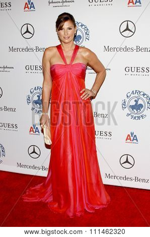 Daisy Fuentes at the 30th Carousel of Hope Ball held at the Beverly Hilton Hotel in Beverly Hills, California, United States on October 25, 2008.