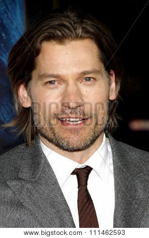 Nikolaj Coster-Waldau at the HBO's third season premiere of
