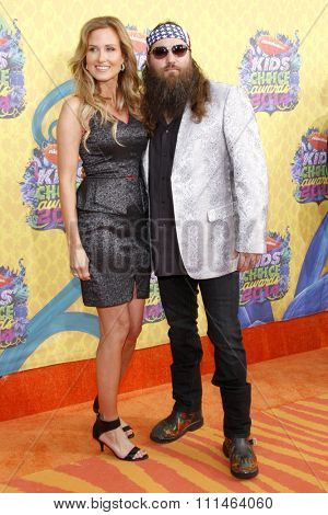 Willie Robertson at the Nickelodeon's 27th Annual Kids' Choice Awards held at the USC Galen Center in Los Angeles on March 29, 2014 in Los Angeles, California.