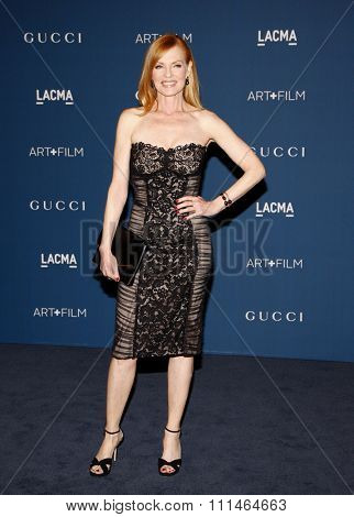 Marg Helgenberger at the LACMA 2013 Art + Film Gala Honoring Martin Scorsese And David Hockney held at the LACMA in Los Angeles on November 2, 2013 in Los Angeles, California.