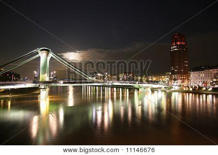 Flößerbrücke in Frankfurt