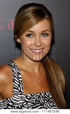 Lauren Conrad attends the LG Electronics' (LG) Launch of the