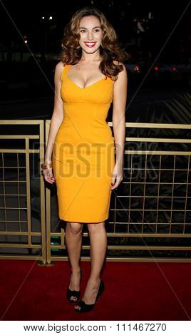 Kelly Brook attends the LG Electronics' (LG) Launch of the