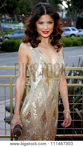 Natassia Malthe attends the LG Electronics' (LG) Launch of the