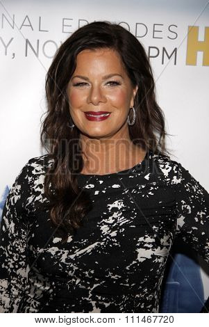 Marcia Gay Harden at the Los Angeles premiere of HBO's 'The Newsroom' Season 3 held at the DGA Theatre in Los Angeles on November 4, 2014.