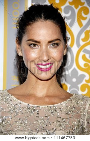 Olivia Munn at the Los Angeles premiere of HBO's 'The Newsroom' Season 3 held at the DGA Theatre in Los Angeles on November 4, 2014.