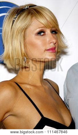 Paris Hilton at the HRTS'