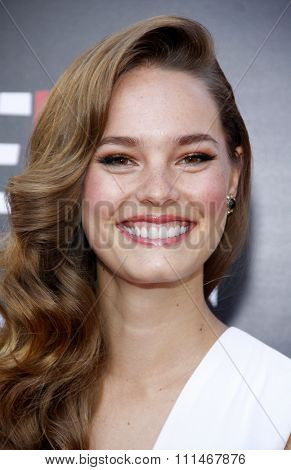 Bailey Noble at the Season 7 premiere of HBO's 'True Blood' held at the TCL Chinese Theatre in Los Angeles, United States, 170614.