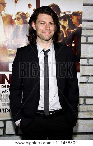 Patrick Fugit at the HBO's 'Cinema Verite' Los Angeles Premiere held at the Paramount Studios Lot in Hollywood on April 11, 2011.